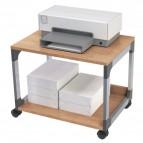 Carrello portastampante Durable - argento metallizzato/faggio - 60x43,2x47,7 cm - 2 - 3710-124