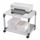 Carrello portastampante Durable - grigio - 60x43,2x47,7 cm - 2 - 3710-10