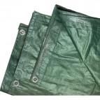 Telone verde Edis - 3x4 m - 200 gr/mq - 19301