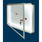 Bacheche luminose SGS - Anta battente - standard - A3 - 54x4,5x44 cm - WD 550 L