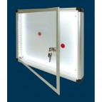 Bacheche luminose SGS - Anta battente - standard - A4 - 30x4,5x44 cm - WD 530 L