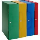 Scatole portaprogetti in presspan Brefiocart - 6 cm - verde - 020E7613.VE (conf.5)