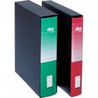 Registratori Dox 5 - dorso 5 - Protocollo - rosso - D26511