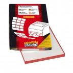 Etichette adesive Markin - Nr. etichette / foglio 8 - X210C502 (conf.100)