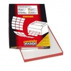 Etichette adesive Markin - 70x25 mm - Nr. etichette / foglio 36 - X210C506 (conf.100)