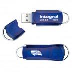 Chiavette USB COURIER Integral - USB 3.0 - 16 GB - blu - INFD16GBCOU3.0