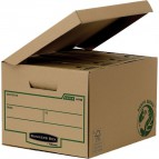 Scatola archivio con coperchio ribaltabile Bankers Box Earth Fellowes - 4470801 (conf.10)