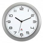 Orologio da parete Easy Time Alba - grigio metallizzato - Ø 30 cm - HORNEW M
