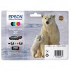 Originale Epson C13T26164010 Conf. 4 cartucce inkjet 26 n+c+m+g