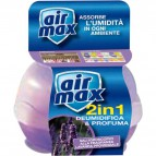 Mangiaumidità deodorante 2 in 1 Air Max - Standard 40 g - lavanda - D0121