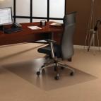 Tappeti protettivi policarbonato Floortex -tappeti,moquette-trasparente- 120x134x0,23cm - FC1113423ER