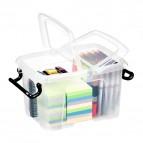 Contenitori con coperchio Smart Box Strata - 40x29,5x18,3 cm - 12 l - HW671