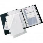 Buste di ricambio per Rubriche telefoniche Telex Combi 2000 Sei Rota - 10 buste - 532000 (conf.10)