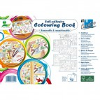Colouring book adesivo Global Notes - 25 fogli - Q871908