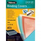 Copertine in PVC per rilegatura Fellowes - A4 - 200 my - rosso - 5377201 (conf.100)