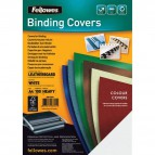 Copertine in cartoncino per rilegatura Fellowes - A4 - goffrato - 250 my - royal blu - 5371305 (conf.100)
