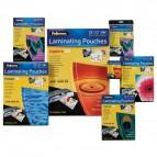 Pouches per plastificatrici Fellowes - 125 micron per lato - A6 - lucida - 5307201 (conf.100)