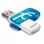 Chiavetta USB 3.0 Vivid Philips - azzurro - 16 GB - PHMMD16GBVIVU3