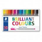 Triplus® fineliner Brilliant Colours Staedtler - 334M30 (conf.30)