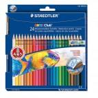 Matite colorate acquerellabili Noris club® colors Staedtler - 144 10NC24 (conf.24)
