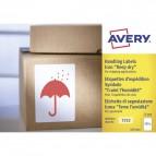 Etichette in rotolo per spedizioni Avery - Teme Umidità - 74x100mm - 200 - 7252