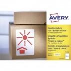 Etichette in rotolo per spedizioni Avery - Teme il calore - 74x100mm - 200 - 7253