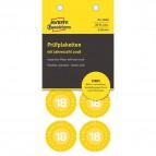 Bollini di ispezione prestampati in vinile  Avery - giallo - diam. 30 mm - 8 - 6940 (conf.10)
