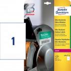 Etichette ultra resistenti polietilene flessibile Avery - 99,1x139mm - 4 - L7915-10 (conf.10)
