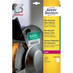 Etichette ultra resistenti polietilene flessibile Avery - 210x297mm - 1 - L7917-10 (conf.10)