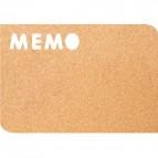 Pannelli Silhouette in sughero Securit -  Memo - 28,5x41,4 cm - CB-MEMO