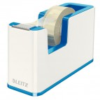 Dispenser per nastro adesivo WOW Dual Color Leitz  - 5,1x12,6x7,6 cm - blu metallizzato - 53641036
