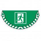 Adesivi segnalatori CEP - Uscita di emergenza - 710/20