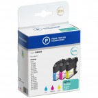 Compatibile Prime Printing per Brother LC-123RBWBP conf. 3 cartucce c+m+g - 4186393