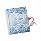 Diario con lucchetto My Diary Lebez - cartoncino - assortiti - 13x18 cm - 4496