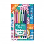 Penne Flair Nylon CANDY POP Papermate - 1 mm - assortiti - 1985616 (conf.12)