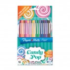 Penne Flair Nylon CANDY POP Papermate - 1 mm - assortiti - 1985621 (conf.16)