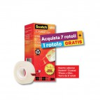 Value Pack nastro adesivo Crystal Scotch® 600 – 19 mm x 33 m - VP 8RT  CRYSTAL 600 (conf.7+1)