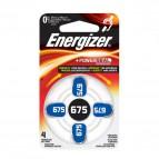 Pile acustiche Energizer - 675 - 1,4 V - E001082204 (conf.4)