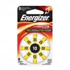 Pile acustiche Energizer - 10 - 1,4 V - E001082404 (conf.8)