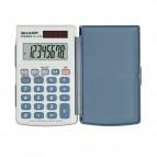 Calcolatrice tascabile EL-243EB a 8 cifre Sharp - grigio - SH-EL243EB