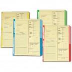 Cartelline dichiarazione redditi 4company - 32,5x25,5 cm - avorio - rosso - 4175 04 (conf.50)
