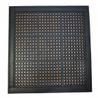 Tappetino antifatica modulare Floortex -107x107x1,2  ca. - nero - FR49090FRMSET