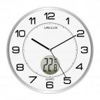 Orologio al quarzo Tempus Unilux - diametro 30,5 cm - grigio -  400094592