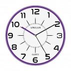 Orologio al quarzo Pop Unilux - diametro 28 cm - viola - 400094285
