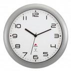 Orologio da parete Watch Time Radiocontrollato Alba - silver - Ø 30 cm - HORNEWRC M silver