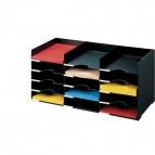 Sistema multiblocco Paperflow - Blocco schedario - nero - 531.01