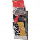 Espositore da muro componibile Paperflow - Per f.to A4 - 23,2x9x73,5 cm - 4064x4.35