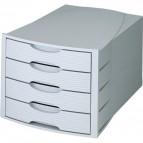 Cassettiera Monitor HAN - grigio/grigio - 4 cassetti - 1001-K-11