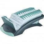 Schedario alfabetico da tavolo Telindex® Durable - acciaio - 2412-23