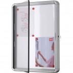 Bacheca per interni Nobo - a finestra - 4xA4 - 53x3,7x69 cm - verticale - 1902557